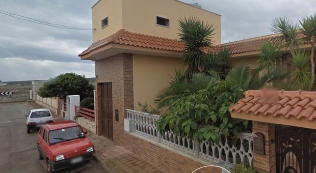 La casa di Michele Misseri ad Avetrana