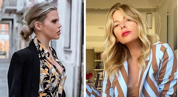 Carlotta Dell'Isola e Alessia Marcuzzi (Instagram)