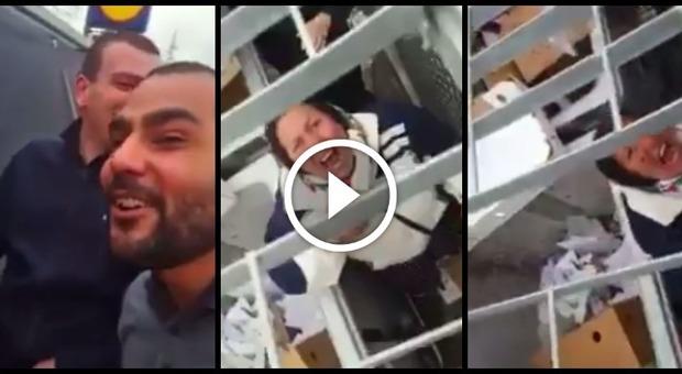 Il video pubblicato su Facebook