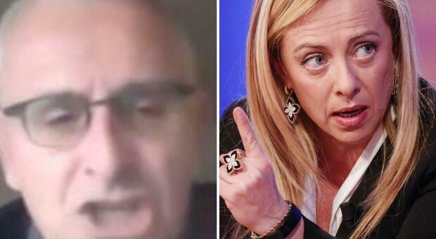 Insulti alla Meloni: Gozzini sospeso tre mesi dall'Università di Siena
