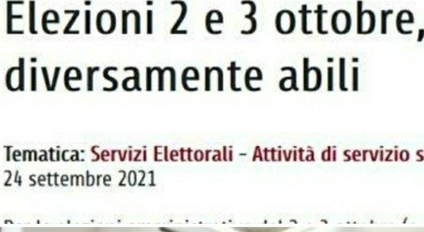 Roma, il sito del Comune sbaglia la data delle elezioni: la svista