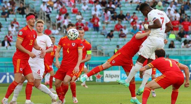 Galles-Svizzera 1-1, Moore risponde al gol di Embolo