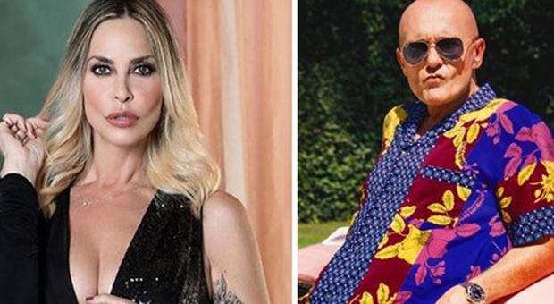 Stefania Orlando e Alfonso Signorini (Instagram)