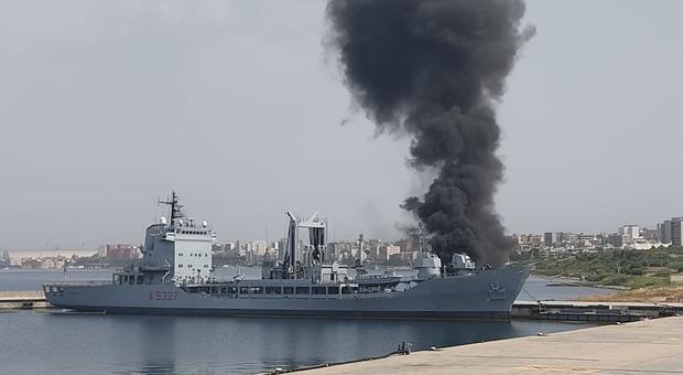 L'incendio a bordo di nave Stromboli