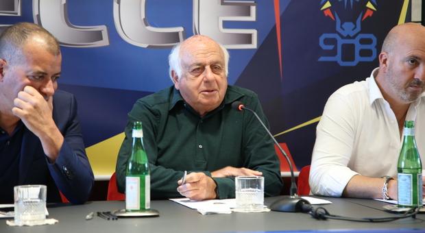 Renè De Picciotto, azionista di riferimento del Lecce calcio