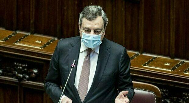 Giustizia, ultimatum Draghi: «Accordo o la conta in aula»