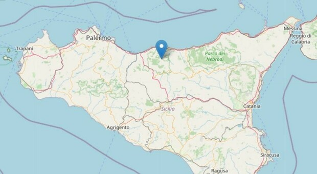 Terremoto, due scosse in un minuto in provincia di Palermo: paura tra la popolazione