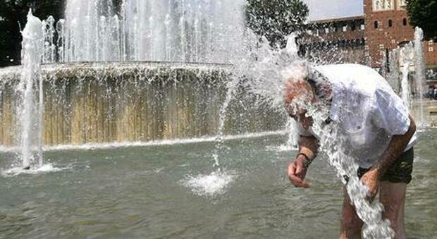 Weekend di caldo torrido: afa e temperature a 34 gradi