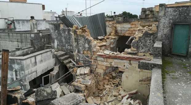Il luogo dell'esplosione (foto: Ivan Tortorella)