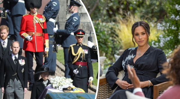 Meghan Markle, i funerali del principe Filippo 'battono' l'intervista a Oprah Winfrey: milioni di persone incollate alla tv