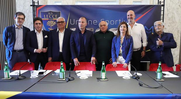 I soci del Lecce calcio