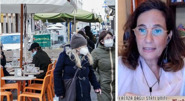 Covid, la virologa Ilaria Capua: «Siamo sfiniti, ma prima del 2023 non ci libereremo dalla pandemia»