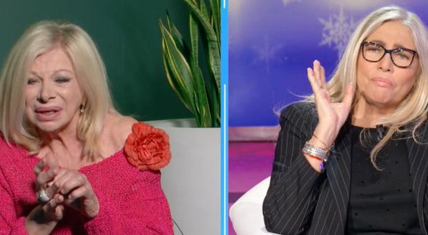 Sandra Milo a Domenica In: «Sono fidanzata con un ragazzo veneto. Mi ha regalato l'anello». Mara Venier reagisce così