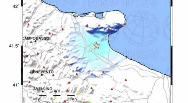 Terremoto, avvertita una forte scossa a Foggia