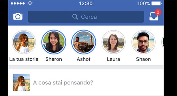 "Facebook lancia le ""stories"" come Snapchat. Ma l'esordio è traumatico"
