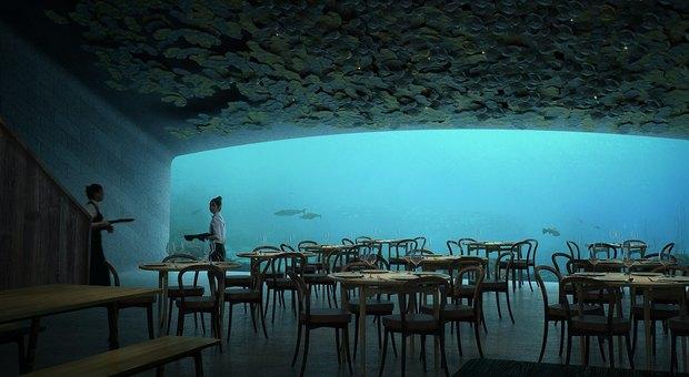 Under, ristorante subacqueo in Norvegia