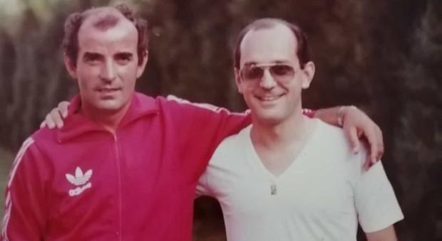 Mario Corso con il dottor Giuseppe Palaia