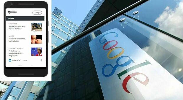 Google News Showcase (con le notizie di Quotidiano) disponibile da oggi in Italia