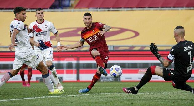 Roma-Crotone dalle 18 diretta. Formazioni: maglia da titolare per Darboe, Cosmi con Simy in attacco