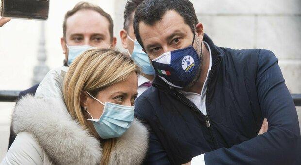 Giorgia Meloni e Matteo Salvini: «Elezioni subito». La leader Fdi: «Governo allop sfascio»
