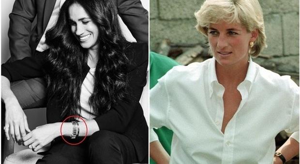 Meghan Markle come Lady Diana: indossa il suo orologio da 17mila sterline
