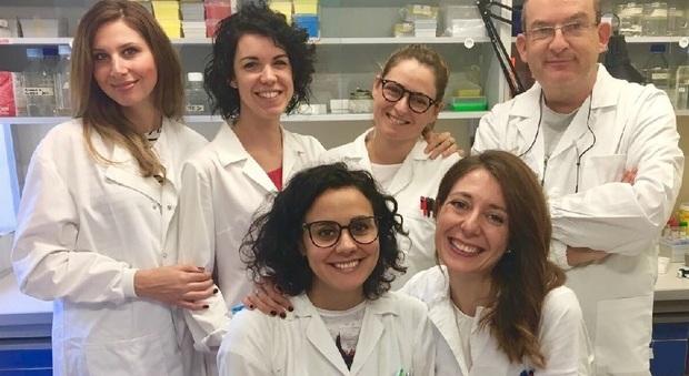 Il team di ricercatori dell'Università di Udine
