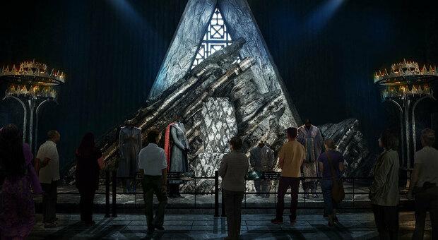 Il Trono di Spade - Dragonstone, la sala del Trono (HBO Licensing)