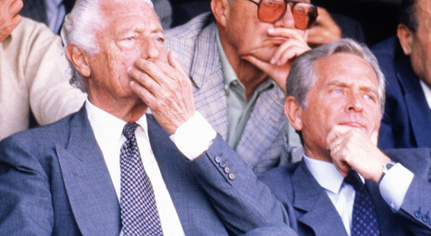 Giampiero Boniperti con Gianni Agnelli
