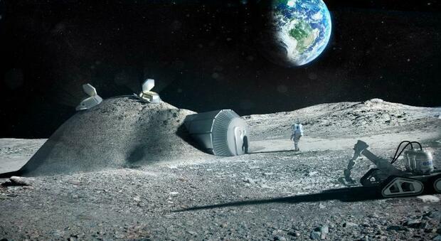 """Luna, un giorno con Christina al Moon Village del programma Artemis: igloo di regolite made in Italy"""""""