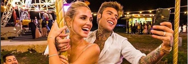 The Ferragnez, le nozze di Chiara e Fedez trend topic su Twitter: oltre 162mila post