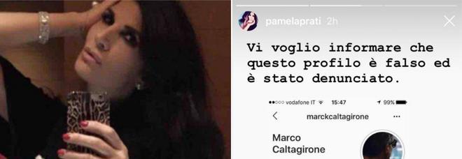Pamela Prati denuncia: «Questo account Instagram di Mark Caltagirone è falso, l'ho già segnalato»