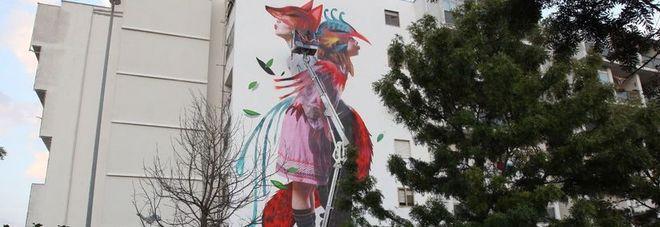 Lecce, la street art cambia il volto della 167