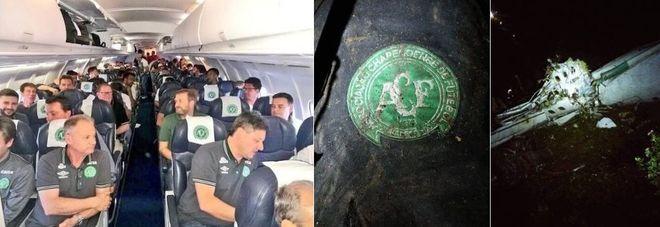Precipita aereo in Colombia con squadra brasiliana: 71 morti Recuperate le scatole nere