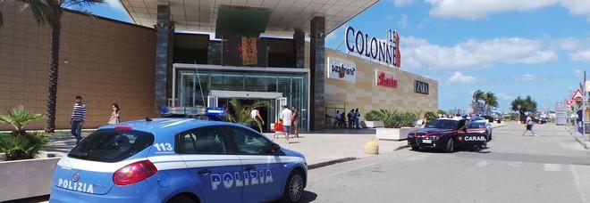"""Il centro commerciale """"Le Colonne"""""""