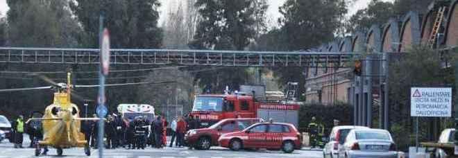 Il luogo dell'incidente (foto Paolo Caprioli - Toiati)