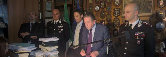 Mafia, usura, rapine, estorsioni, droga: arrestati in 23, indagati in 83, tra cui 6 funzionari di banca. Sequestrati beni per oltre 10 milioni di euro / TUTTI I NOMI