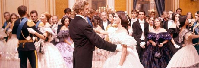 """Una scena del film """"Il Gattopardo"""" di Luchino Visconti"""