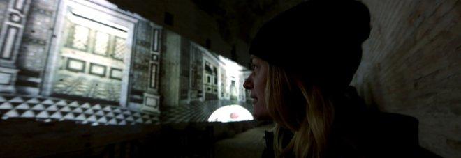 Domus Aurea, svelate in 3D le stanze segrete di Nerone Video