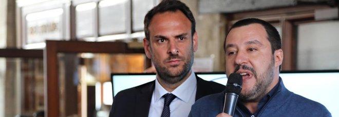 Il sindaco di Treviso Conte con Salavini