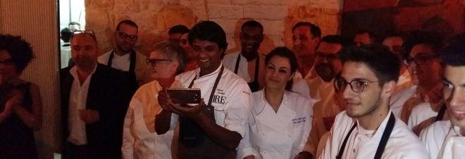 Gli chef protagonisti della cena