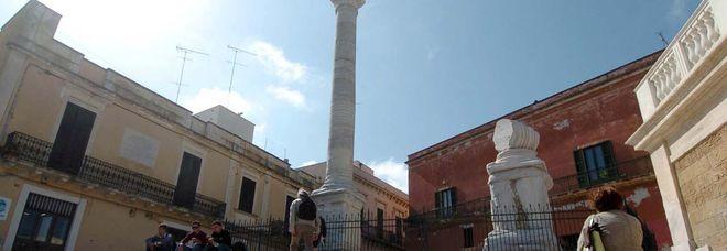 La colonna terminale della via Appia a Brindisi