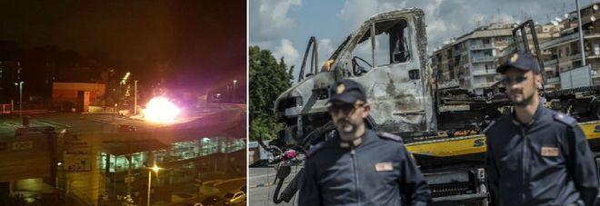 Roma, tre sorelle uccise nel rogo di un camper: escluso raid razzista La procura: filmata una persona che lancia bottiglia incendiaria