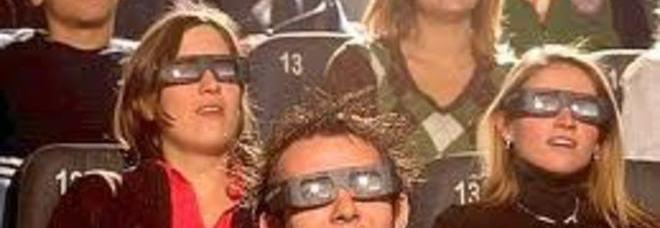 Occhiali in 3D vietati sotto i 6 anni