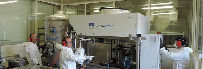Il laboratorio di nanotecnologie