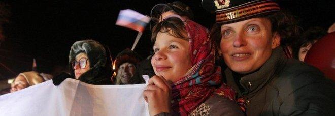 Plebiscito dei filo-russi in Crimea Il 95% vota per la secessione da Kiev Usa e Ue: referendum illegale