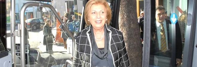 La senatrice Adriana Poli Bortone