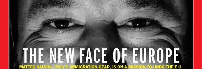 Salvini conquista la copertina di Time: «Il nuovo volto dell'Europa»