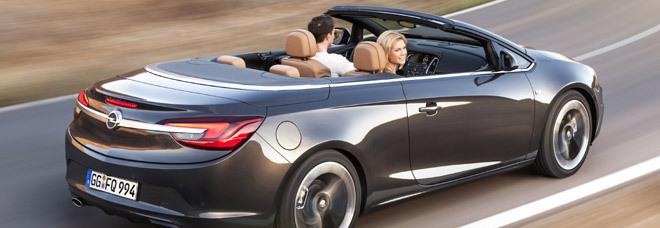 La Opel Cascada, la nuova cabrio quattro posti della casa tedesca