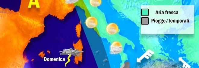 Meteo, torna il caldo ma non per molto: «30 gradi a Roma». Da domenica sarà autunno