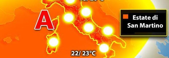 """Meteo, arriva l'alta pressione africana: da domenica una settimana """"estiva"""""""
